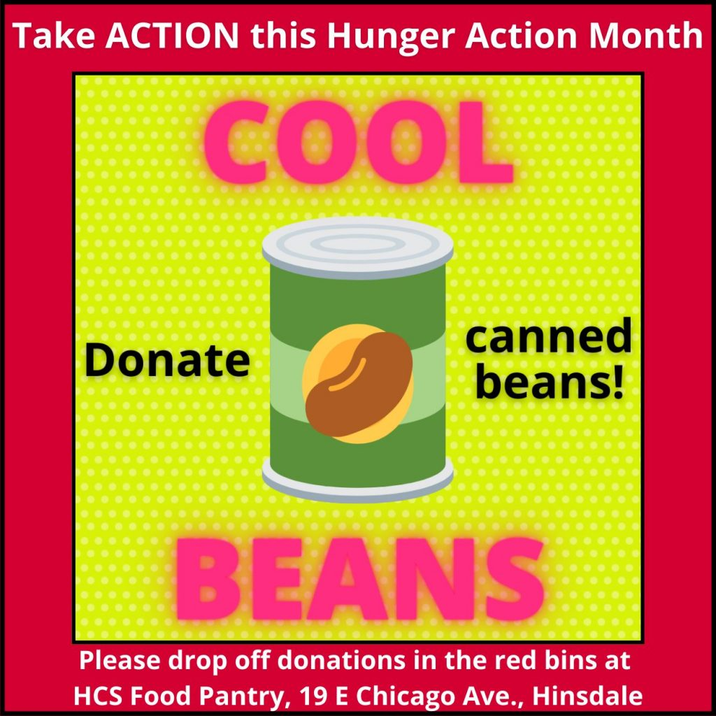 Donate canned beans