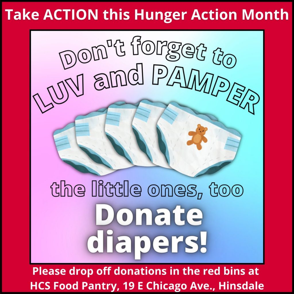 Donate diapers