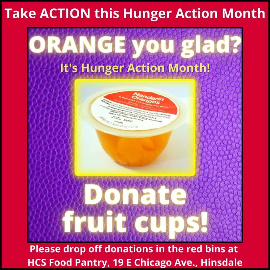 Donate fruit cups