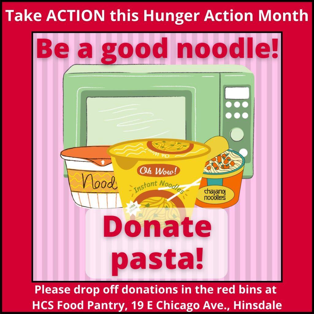 Donate pasta
