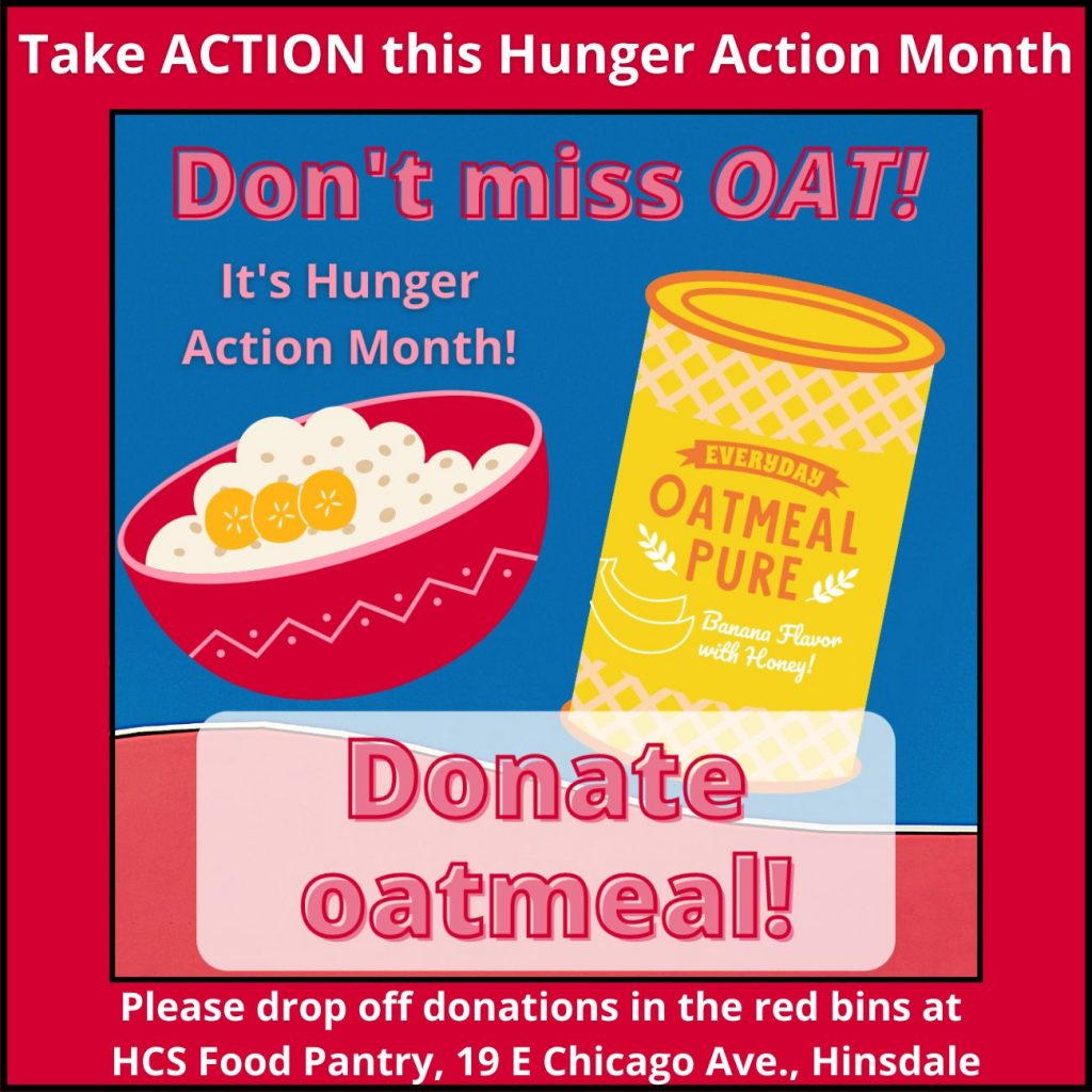 Donate oatmeal