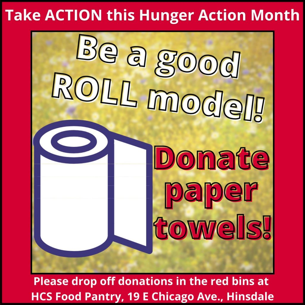 Donate paper towels