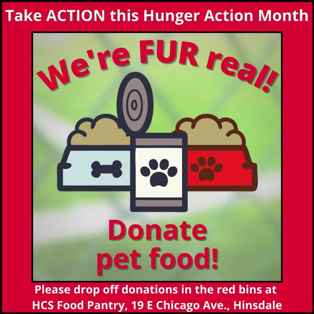 Donate pet food