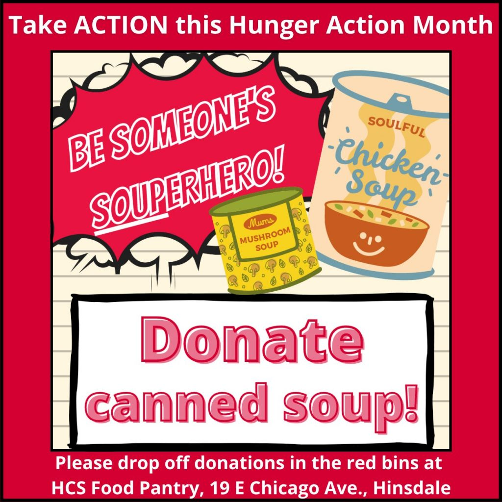 Donate canned soup