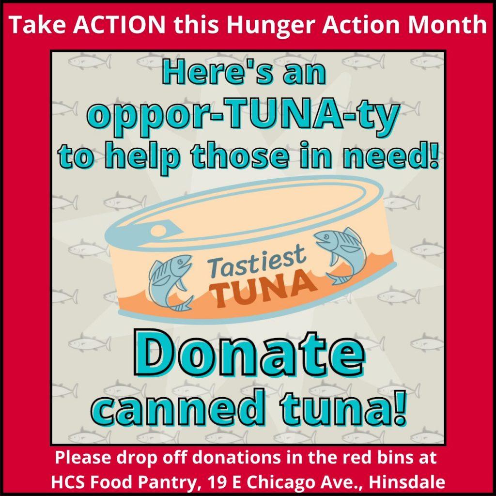 Donate tuna